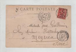 Jane Guillemin  Chez Hostache Meyzieu 1901 Paris Porte Guillaume - Généalogie