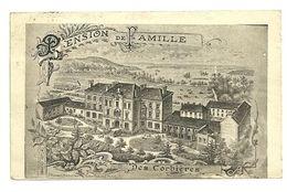 ILLE & VILAINE - Dépt N° 35 = ST SERVAN 1925 = CPA BREGER = PENSION FAMILLE CORBIERES - Saint Servan