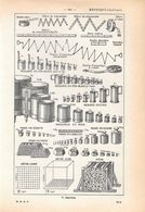 Systeme Metrique. Stampa 1954 - Vieux Papiers