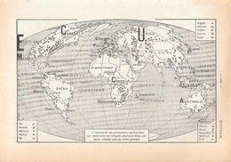 Minerais. Stampa 1954 - Vieux Papiers