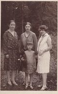 Child W Teddy Bear Toy Real Photo Postcard 1920s - Jeux Et Jouets