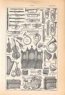 Musique. Stampa 1954 - Vieux Papiers