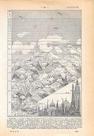 Hauteurs. Stampa 1954 - Vieux Papiers