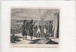 Gravure Portrait Du Roi De Rome Apporté à Napoléon Bataille Moskova Sargent   Philippoteaux - Non Classificati