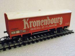 Wagon Couvert Kronenbourg SNCF / Jouef 6260 1:87/HO - Coches De Mercancía