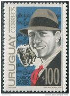 Uruguay 1974. Michel #1307 MNH/Luxe. Singer. Sheet Music. Racing Horses (Ts16) - Uruguay