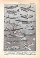 Aviation. Stampa 1954 - Vieux Papiers