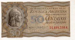 ARGENTINA 50 CENTAVOS 1951  P-261a2   UNC - Argentinien