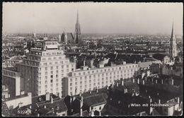 Austria - 1010 Wien - Hochhaus - Alte Ansicht - 3x Nice Stamps - Vienna Center