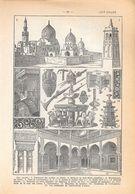 Art Arabe. Stampa 1954 - Vieux Papiers