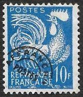 Préo  110  - Coq Gaulois  10f   -    Sans Gomme - 1953-1960