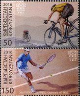 KIRGHISTAN Jeux Olympiques Rio 2016 2v  Neuf ** MNH - Kirgisistan