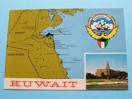 CB QSL Clubs > See STAMPS On The Back > KUWAIT ( Hussain Ammari / KUW 32 ) Anno 19?? ( See / Voir Photo ) MANAMA ! - Kuwait