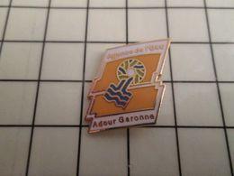 316a Pin's Pins / Rare & Belle Qualité !!! THEME : ADMINISTRATIONS / AGENCE DE L'EAU ADOUR GARONNE - Administrations
