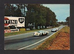 """CPM . 72 . LE MANS . Circuit Des 24 H. Dans Les """"S"""" D'Arnage - Le Mans"""