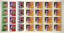 Full Sheets Of Stamps O.G Atlanta 94/ Feuilles Serie Timbres J.O Atlanta 94 - Summer 1996: Atlanta