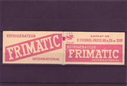 - 0,25  DECARIS - Carnet De 8 - S 01 62 - FRIMATIC - - 1960 Maríanne De Decaris