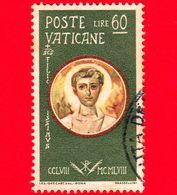 VATICANO  - Usato - 1959 - Martiri Delle Persecuzioni Di Valeriano - S.Felicissimo, Diacono - 60 - Vatican