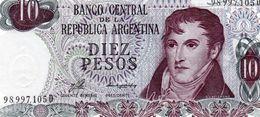 ARGENTINA 10 PESOS LEY 1976  P-300   UNC - Argentinien