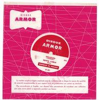 """Disque Publicitaire 7"""" Armor Ruban Isoplac N°87 - 33 Tours - Plastique Souple Blanc - Halleluia - Monte Carlo - Formats Spéciaux"""