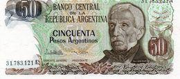 ARGENTINA 50 PESOS  1985  P-314a.2   UNC - Argentinien