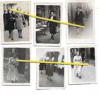 A NANCY CENTRE RUE ST DIZIER  1945 / 1950 FEMMES - Non Classés