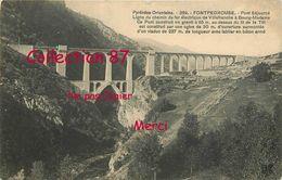 PONTS ☺♦♦ PONT SÉJOURNÉ - PONT SUSPENDU FERROVIAIRE POUR TRAIN ELECTRIQUE - BRIDGE  BRUCKE - Ponts