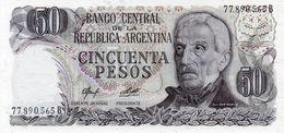 ARGENTINA 50 PESOS  1977  P-301b2   UNC - Argentinien