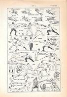 Escrime. Stampa 1954 - Vieux Papiers