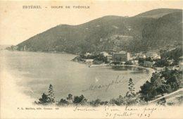CPA -  ESTEREL - GOLFE DE THEOULE (ETAT PARFAIT) - France