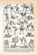Lutte. Stampa 1954 - Vieux Papiers
