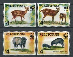 264 - PHILIPPINES 1997 - Yvert 2354/57 - WWF Cerf Sanglier - Neuf ** (MNH) Sans Trace De Charniere - Filipinas