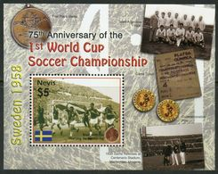 2005Nevis2073/B25275th Anniversary Of The First FIFA World Cup - 1958 – Zweden