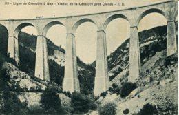 CPA - LIGNE GRENOBLE A GAP - VIADUC DE LA CASSEYRE PRES CLELLES (ETAT PARFAIT) - Non Classés