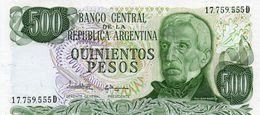 ARGENTINA 500 PESOS  1982  P-303c  UNC - Argentinien