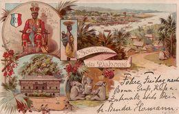 Souvenir Du Dahomé. S.M. Le Roi De Tofa, Le Gouvernement, 1898. (Benin) - Benin