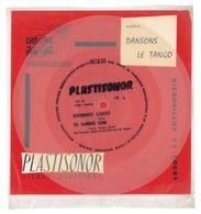 """Disque Plastisonor - Réf MIC 69 - 45 Tours - Plastique Souple Translucide - Série """"Dansons Le Tango"""" - Formats Spéciaux"""