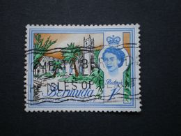 """BERMUDES  (o)  De  1962/1966    """"   Chist Church Warwick   1779   """"  N°171       1 Val. - Bermudas"""