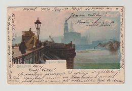 DEUTSCHLAND - DRESDEN:  AUGUSTUS  BRUCHE  -  NACH  BOEHMEN  -  KLEINFORMAT - Ponts