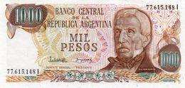 ARGENTINA 1000 PESOS  1982  P-304d2   UNC - Argentinien