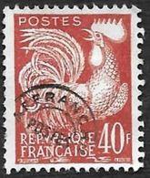 FRANCE  -  Preo  116  - Coq  40c  -  Sans Gomme  - Cote 3e - 1953-1960