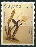 Guyana 1988 Orchidee 350  Mi-Nr. 2169  Postfrisch / MNH - Guyana (1966-...)