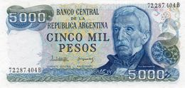ARGENTINA 5000 PESOS  1982  P-305b.2  UNC - Argentinien