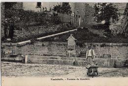 CP 54 Meurthe Et Moselle Vandeléville Fontaine Du Gueulard - Other Municipalities