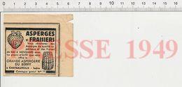 Publicité 1949 Grande Aspergerie Du Berry Chateauroux Fraisiers Asperges Fruit Fraise Légume 229ZL - Vieux Papiers