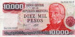 ARGENTINA 10000 PESOS  1979  P-306a.2  XF - Argentinien