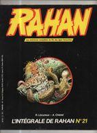 RAHAN INTEGRALE NOIRE N°21 BE 11/1985 Cheret Lecureux (BI4) - Rahan