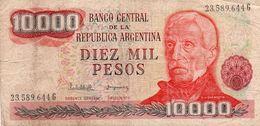ARGENTINA 10000 PESOS  1982  P-306b  Circ. - Argentinien
