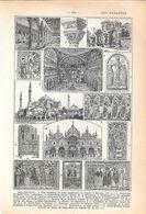 Art Byzantin. Stampa 1954 - Vieux Papiers