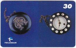 BRASIL G-518 Magnetic Telemar - Culture, Historic Watch - Used - Brésil